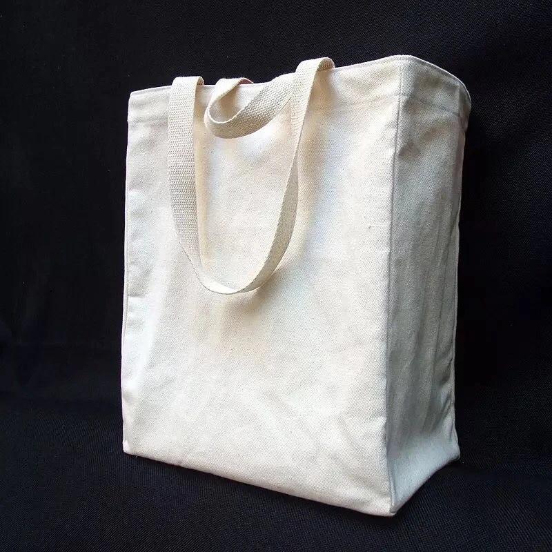 500pcs Lot Canvas Tote Bags Printed