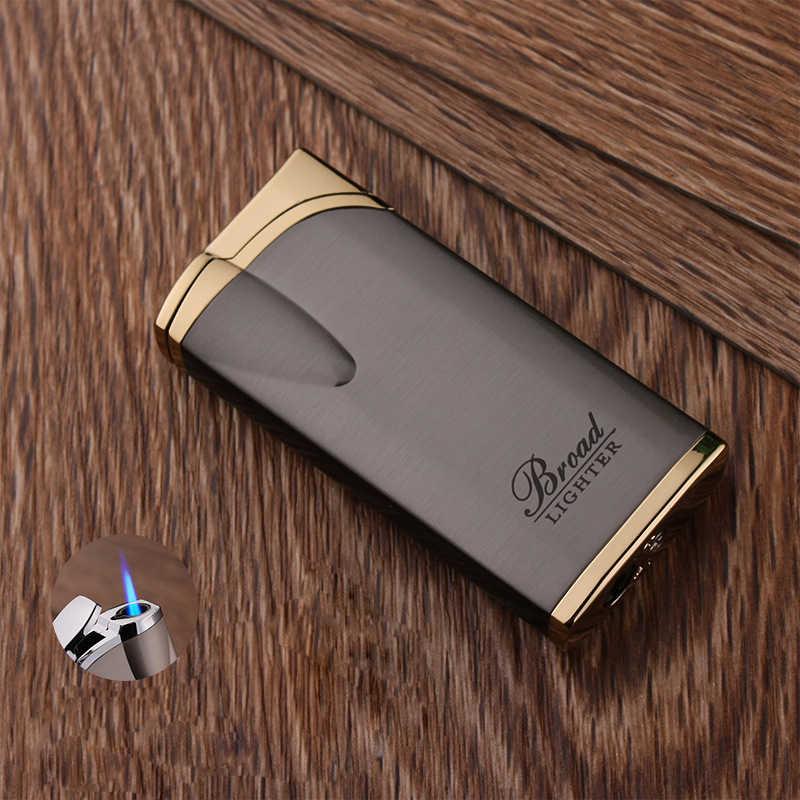 ใหม่ไฟแช็กบิวเทนไฟฉาย Turbo ไฟแช็กโลหะซิการ์ไฟแช็กแก๊ส 1300 C Windproof Lighter อุปกรณ์สูบบุหรี่