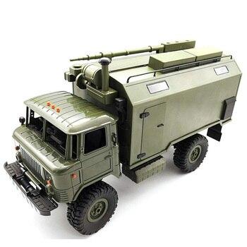 Juguetes con Radio controlada por Control remoto para coche WPL B24 ZH 116 2,4G 4WD, camión de radiocontrol todoterreno, RTR Green D300429
