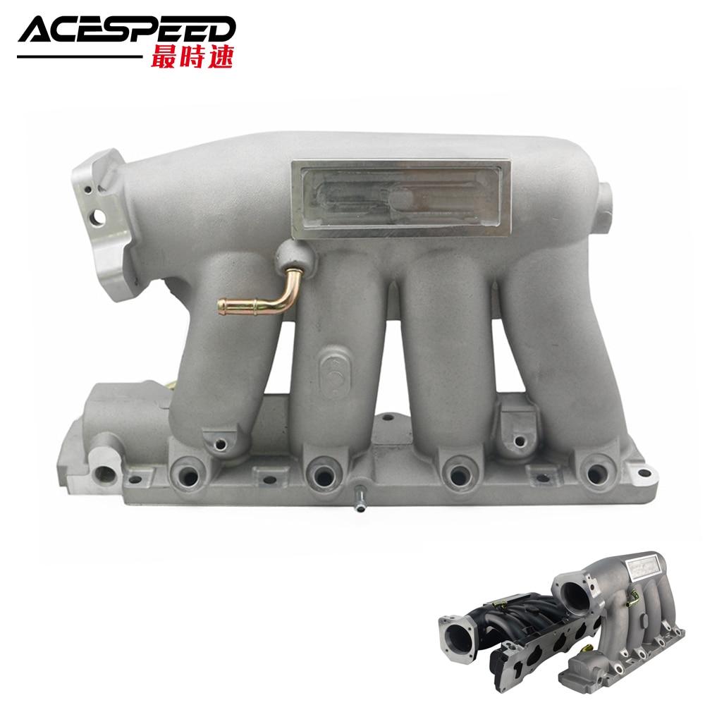 Cast Intake Manifold For 04-08 Acura RSX Base K24A2 06-11 Honda Civic Si K20Z3