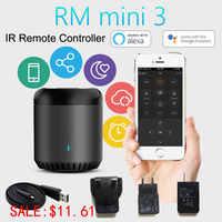 2019Broadlink RM Mini3 Universal Intelligente WiFi/IR/4G Drahtlose IR Fernbedienung Über IOS Android Smart home Automation Neue