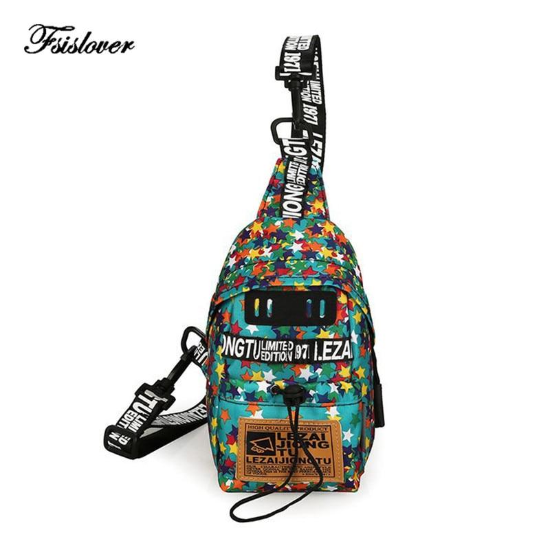 New Women Fanny Pack Multifunction Waist Bag Woman Waist Pack Men Canvas Unisex Hip-hop Travel Phone Belt Bag Cool Chest Bum Bag