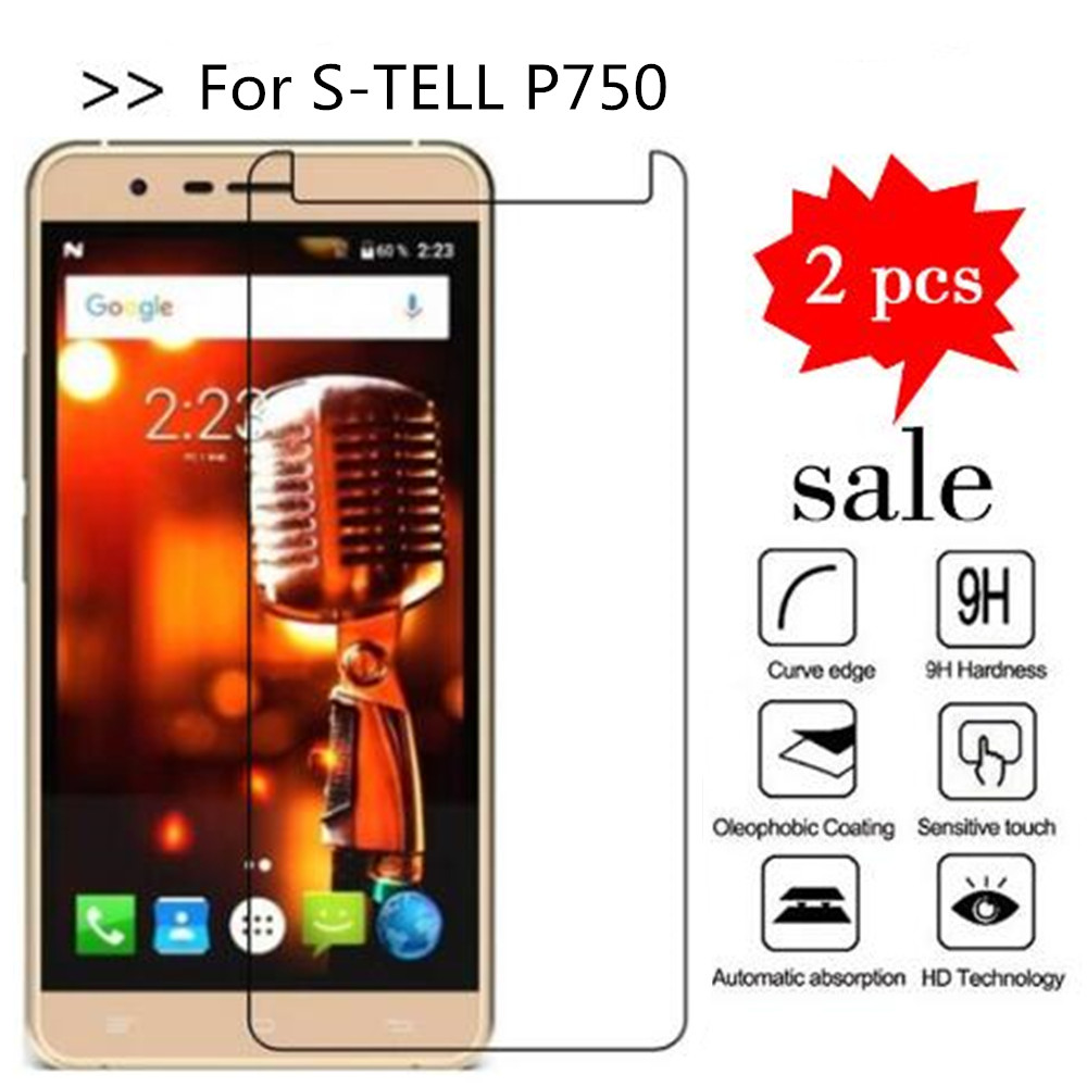 Tempered Glass For S-TELL P750 Screen Protector Premiun Phone Protection Film Case For S-TELL P750 Tempered Glass