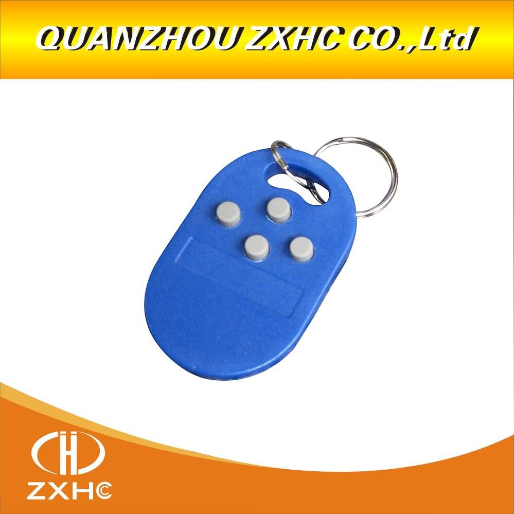 Multipla Telecomando 4 O 5 In 125khz T5577 EM Scrivibile IC 13.56Mhz M1k S50 UID Variabile CUID RFID Keychain Portachiavi Tag