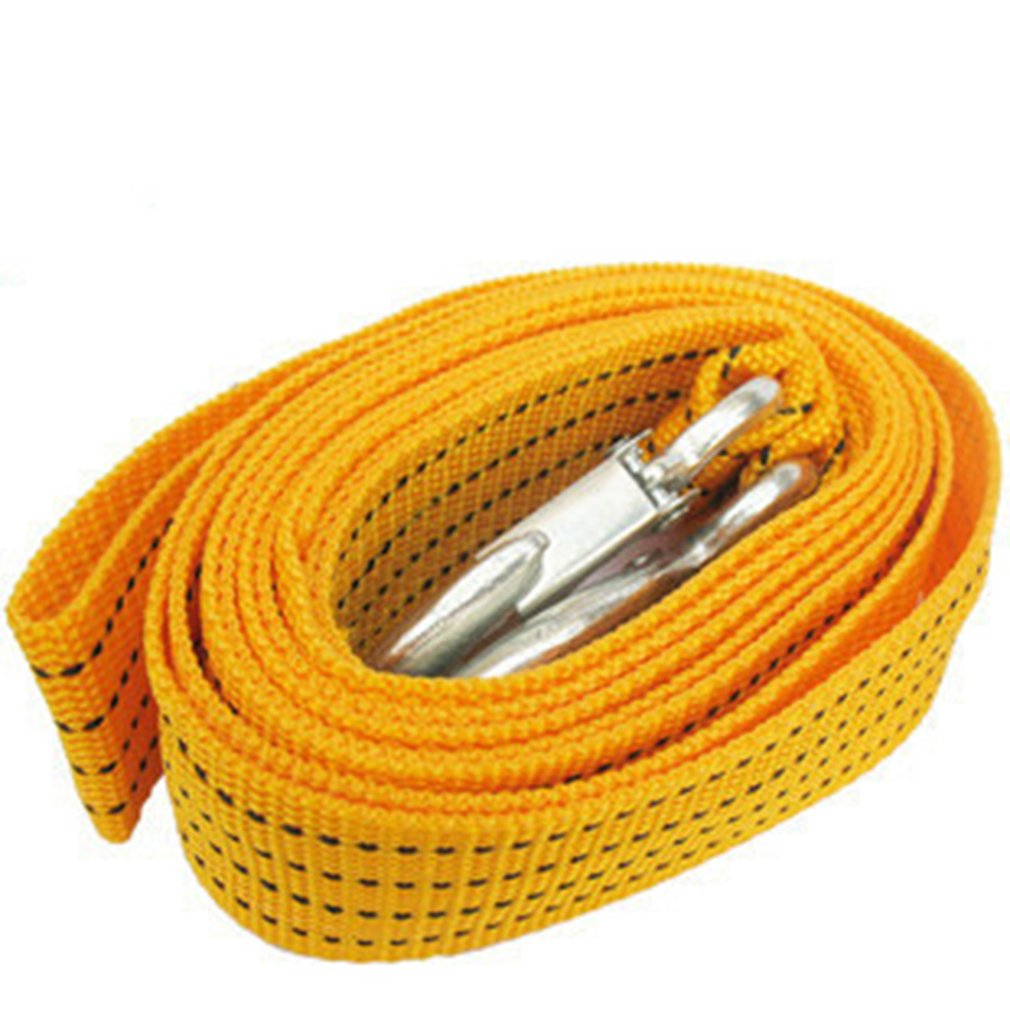 Polyester Car Traction Rope Car Safety Emergency Trailer With Car Tow Rope