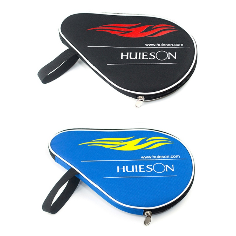 Professional Table Tennis Racket Case With Outer Zipper Bag For Table Tennis Balls Ping Pong Paddle Cover Pouch
