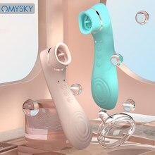 Omysky oral chupar massageador mamilo otário vibradores estimulador clitoral buceta bomba vagina vibrador brinquedos sexuais para mulheres do sexo feminino