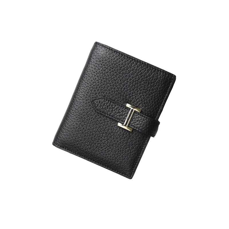 U Beauty portfel damski najwyższej jakości skórzany list hasp skóra bydlęca etui na karty moda portfel małe drobne torebki