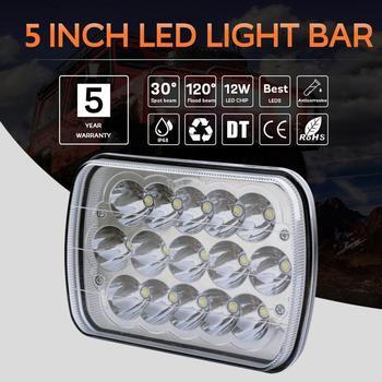 Work Light Large Truck Truck Headlight Assembly Fog Light Car Light  Floodlights Hot Sale Engineering Maintenance 1