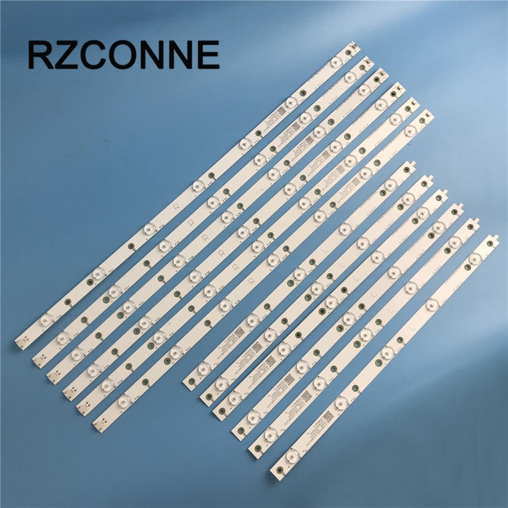 LED Backlight Strip For Philips LB-PF3030-GJABL506X12AGM2-R/L-H LB-PF3030-GJD2P5500612AG82  50AH42L 500TT68 500TT67 50PUH6400