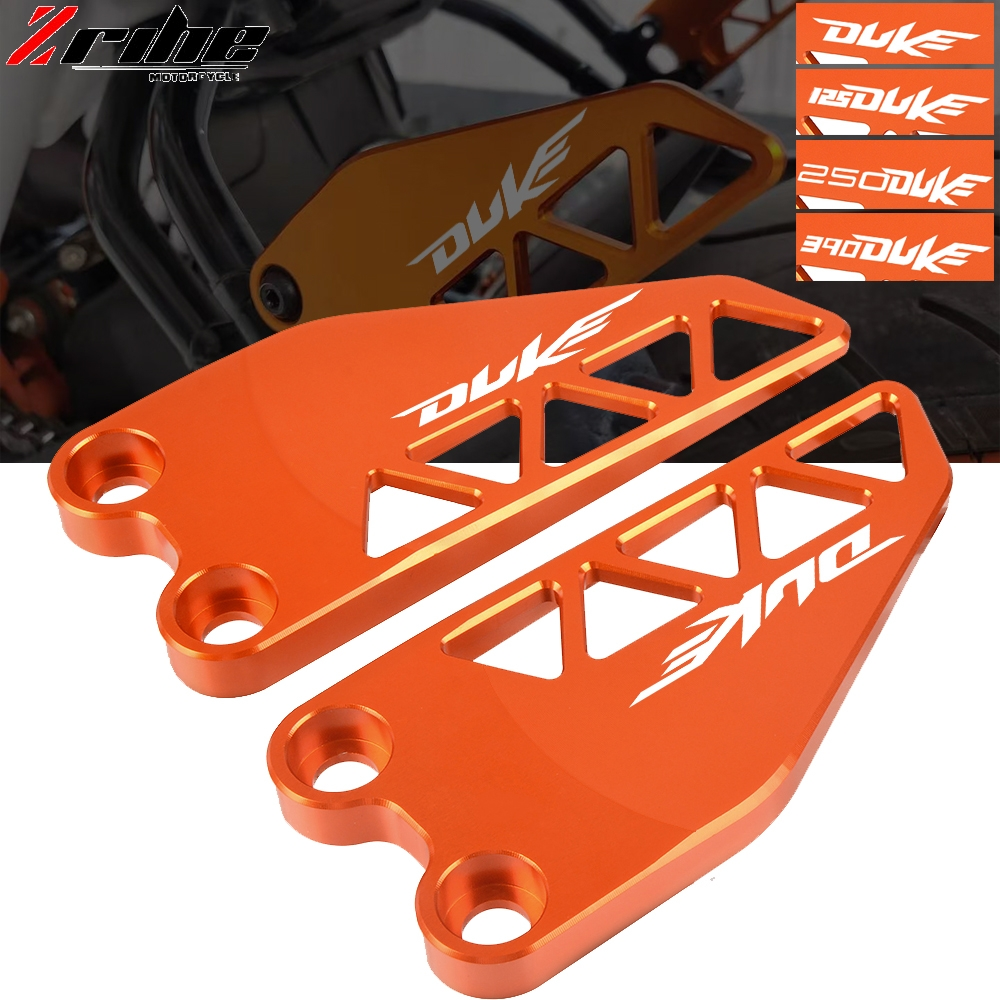 FOR KTM duke 390 Motorcycle Accessories CNC Aluminum Rear Heel Protective Cover Guard FOR KTM DUKE 125 250 390 2017 2018 2019 image