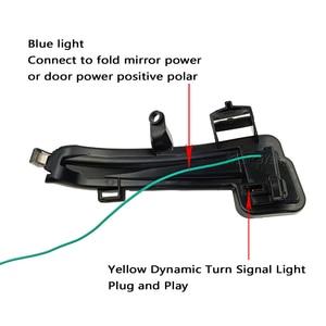 Image 4 - 2 pieces For Skoda Superb B8 MK3 III 3V A7 2016 2017 2018 2019  Dynamic Side Wing LED Turn Signal Blinker Mirror flasher Light