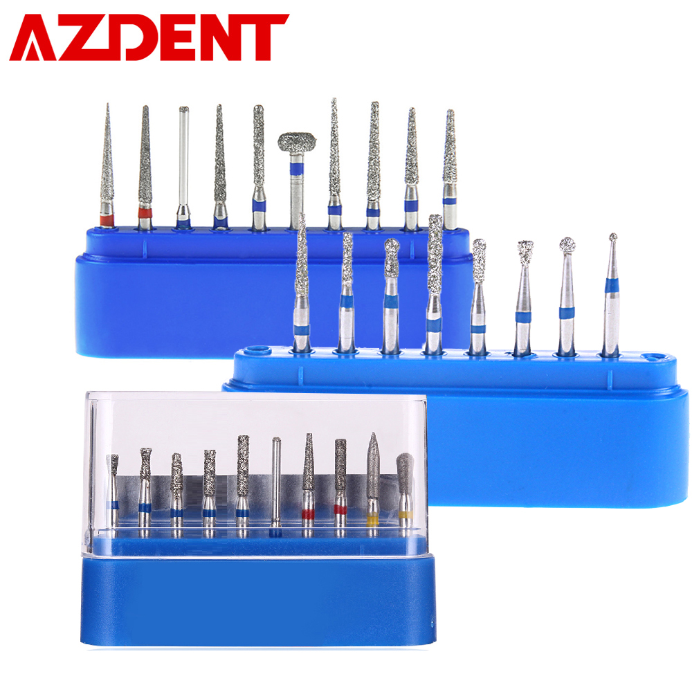 Dental Diamond Burs Drill For High Speed Handpiece Dentist Burs FG Series Dia.1.6mm