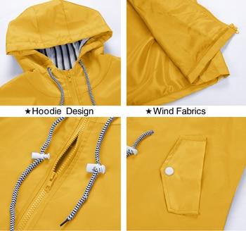 Windproof Long Hooded Jacket 4