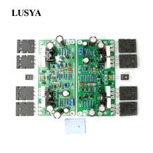 Lusya L20 SE Audio Amplifier Board  A1943 C5200 stereo Dual Channels 350W Amplifier Amp Board 4ohm DIY kits 2pcs