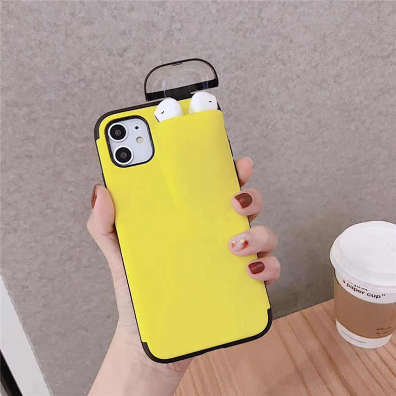 For Iphone 11 Pro Max Case Xs Max Xr X 8 7 6 Plus Cover For Airpods Holder Hard Case For Airpods Case For Iphone Xs Max Xr 7 8 Fitted Cases Aliexpress