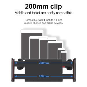 Image 5 - 7 14 Inch Adjustable Car Tablet Stand Holder 360 Rotation Car Rear Pillow Holder Auto Tablet Car Stand Seat Back Bracket