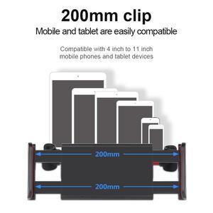 Image 5 - 7 14 Polegada ajustável carro tablet suporte de suporte 360 rotação carro traseiro travesseiro titular auto tablet carro suporte de assento de volta
