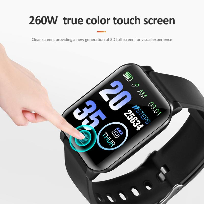 Y12 Intelligent Bracelet Watch With Access Control NFC Information Reminds IP67 Waterproof High Sport Smart Wristband Smart Band