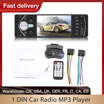 1 DIN Car Multimedia Player Car Radio MP3 Player Bluetooth Stereo Video Car Digital 1Din Multimedia Player Rear View Camera image