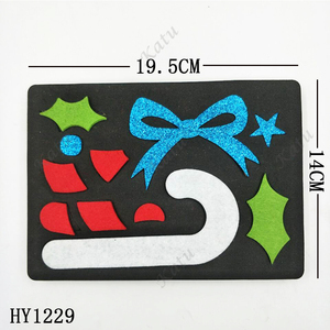 Image 2 - Christmas Decoration  Cutting Dies HY1229 die cut & wooden dies Suitable  for common die cutting  machines on the marke