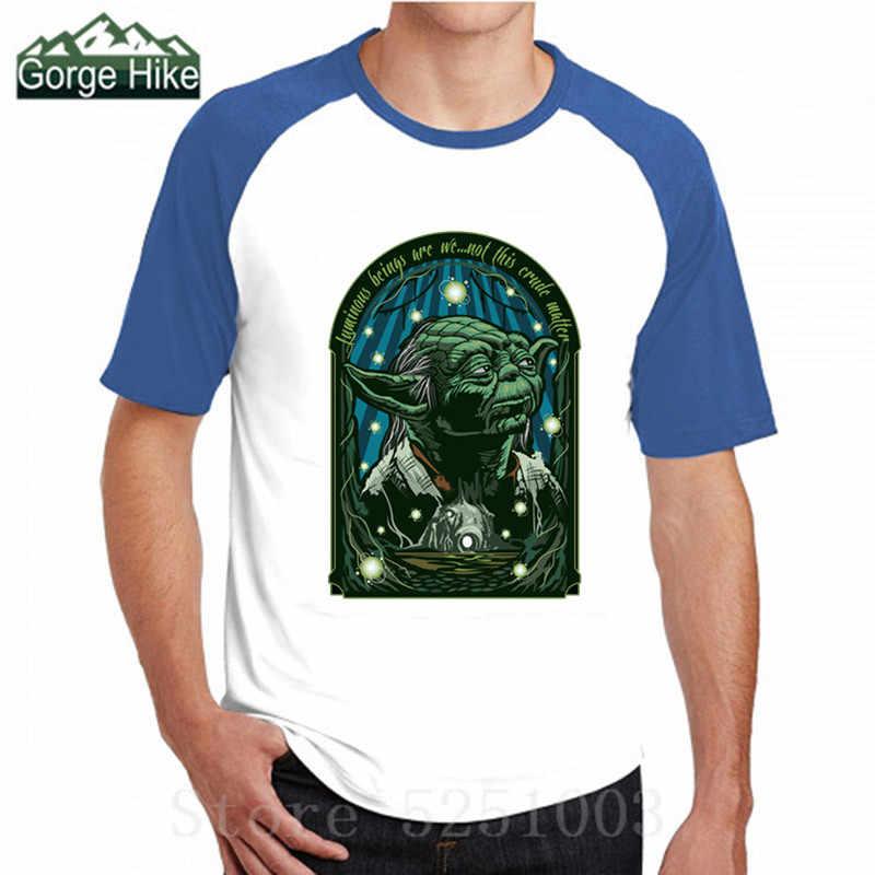 Gwiazda T Shirt Darth Vader ciemna strona mocy film koszulki dla mężczyzn Wars Yoda: ostatni Jedi mistrz walki koszulka z nadrukiem 3D imperium kontratakuje