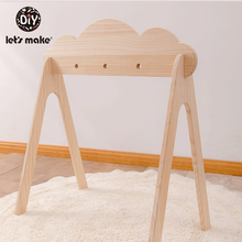 Nordic Style Baby Gym Play Wood Baby Toys