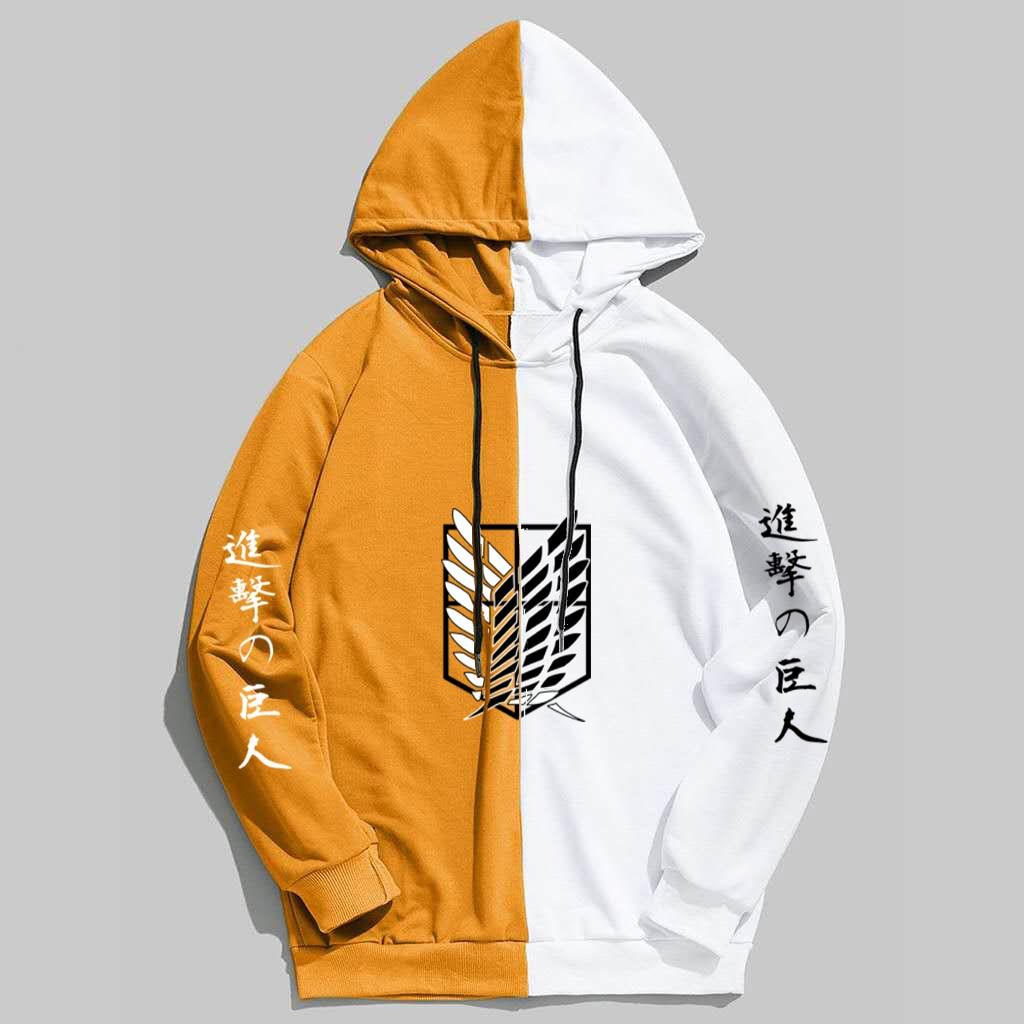 New Summer Anime Brand  Attack on Titan  Printing The Sharingan Hoodies Pullover Sweatshirt Harajuku Hip Hop Thin Clothing 4