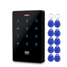 Outdoor IP68 Waterproof RFID Access Control Keypad Electronic Access Controller 125KHz Key Cards for Door Access Control System