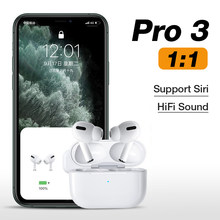 Nuevos auriculares inalámbricos Airpodding Pro 3 originales de 1:1, Auriculares Bluetooth con Aire táctil para IPhone Android Pod Pro 2(China)