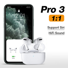 New Original 1:1 Airpodding Pro 3 Wireless Headphones Bluetooth Earphone Headset Touch Aire