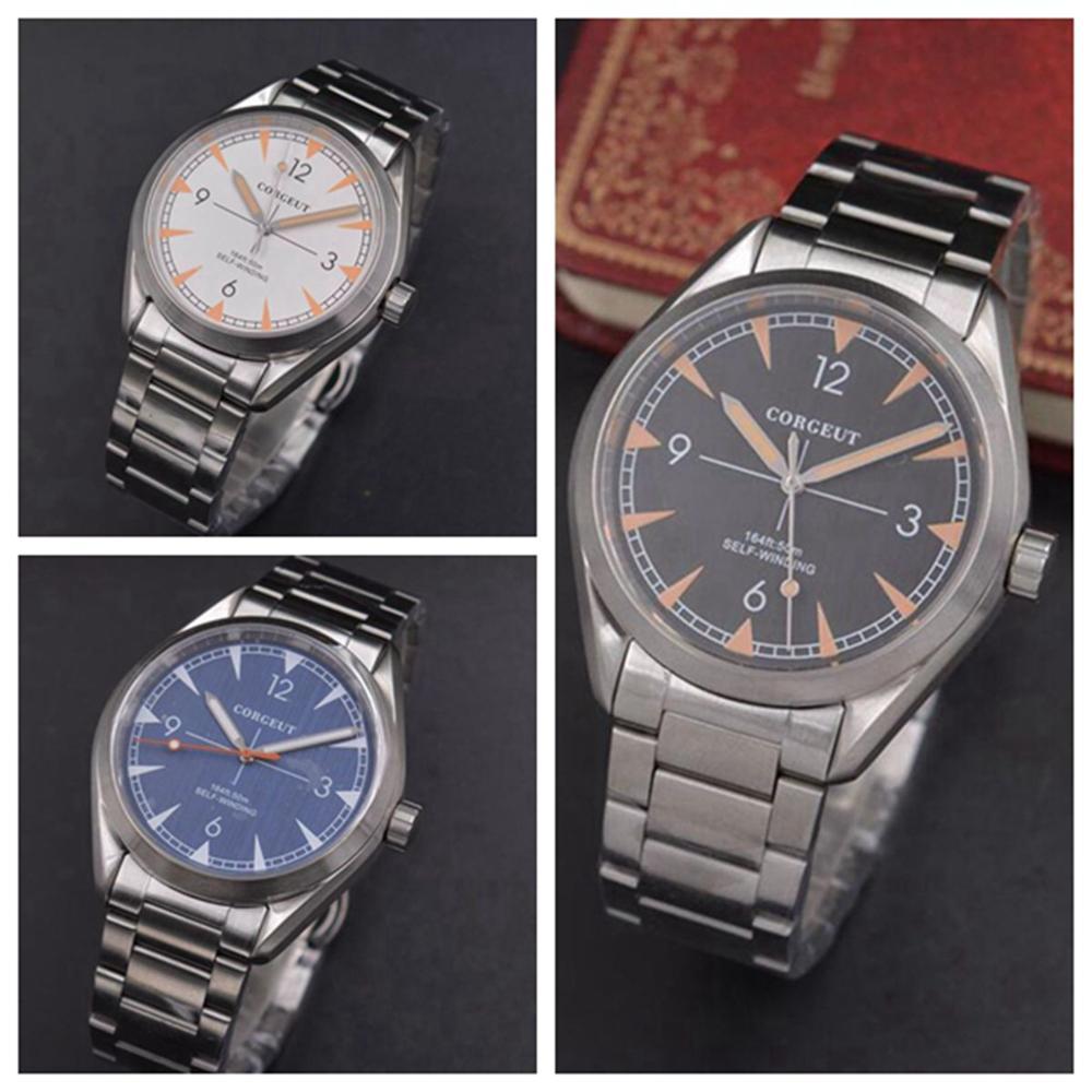 Automatic Mechanical Watches swim Sport Luxury top Brand Men's Watches Business Wrist watch Male Clock Relogio Masculino8