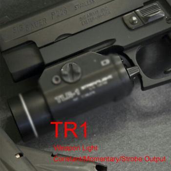 Tactical Fullsize Flashlight TLR Light Fits GLOCK 1 9 CZ 75 SIG SAUER P320 CZ SIG SAUER SP2022 Defense Pistols Torch