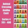 Серия 4 (от 391 до 400) карточка для скрещивания животных карты Amiibo блокирует nfc карты для переключения NS 3ds серии игр 4 (от 391 до 400)