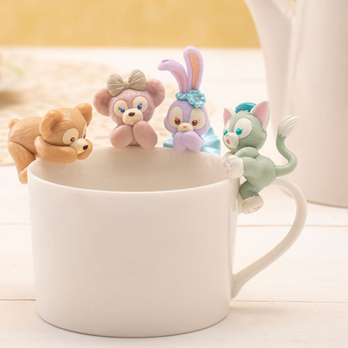 Cartoon Cute Duffy Bear Shelliemay Stellalou Gelatoni Cat Figure Collection Garage Kit Pendant Toy Doll Accessories