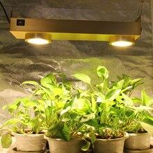 Luz LED de cultivo Cree CXB3590 COB, regulable, espectro completo, lámpara de Cultivo LED de 200W con temporizador para invernadero de interior, tienda de plantas hidropónicas