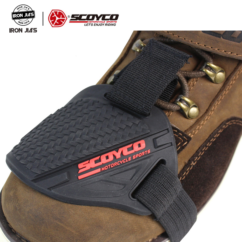 Motorcycle Shoes Protective Motorcycle Gear Shoe Boots Protector Gear Shift Pad