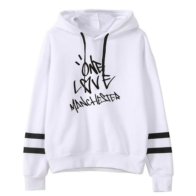 ONE LOVE MANCHESTER ARIANA GRANDE STRIPED HOODIE