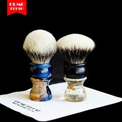 Щетка для бритья OUMO-«душа дерева» с маньчжурой/шелковой щеткой для бритья HMW silvetip knot kntos