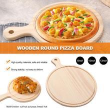 Wooden Board Ecological Breakfast Plate Western Food Plate Restaurant Steak Plate Cake Plate Pizza Sticky Plate цена 2017
