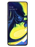 "Samsung Galaxy A80, Black Color (Black), 12 8GB Memoria Interna, 8GB RAM, dual SIM, Screen 6.7 ""FHD +, Camer"