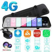 12 Inch Android 8.1 Adas Dash Cam Car Dvrs Camera Gps Navi Bluetooth Fhd Video Recorder 4G Wifi Dvr Mirror