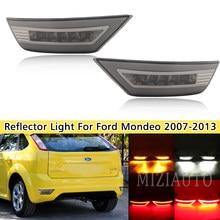 Paraurti posteriore a LED fumo 2 pezzi per Ford Focus Hatchback 2009 - 2013 per Ford Focus 2 MK2/Escape Kuga riflettore luce fendinebbia posteriore