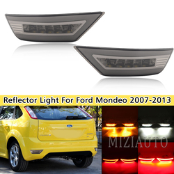 2Pcs Smoke LED Rear Bumper For Ford Focus Hatchback 2009 - 2013 For Ford Focus 2 MK2/Escape Kuga Reflector Light Rear Fog Lamp