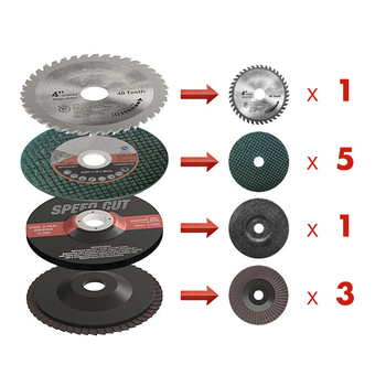 "10pcs/Set 4"" Grinding Discs Sanding Polishing Cutting Wheels for Angle Grinder"