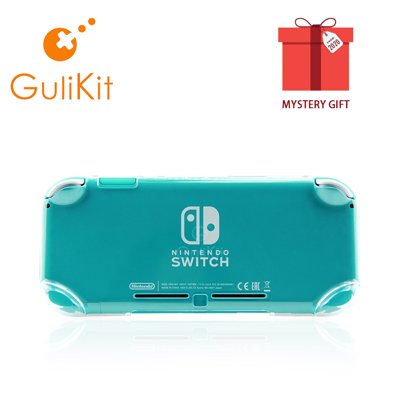 Gulikit NS16 Crystal Case for Nintendo Switch Lite Soft Silicone Protective Case for Switch Lite Handheld Game Console Cover(China)