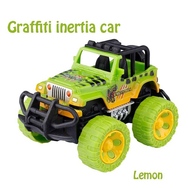 HISTOYE Remote Control Car Graffiti Off-Road RC Car for Kids Control RC Car Toys Buggy Trucks Off-Road Trucks Toys for Boys