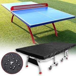 Table tennis table cover table