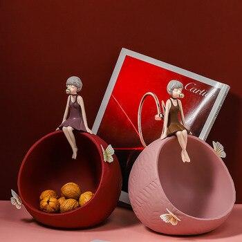 Επιτραπέζια διακοσμητική μπάλα με γυναικεία φιγούρα