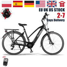 Electric Bicycle Ebike City-Urban-Pedal Double-Disc-Brake 28inch Adult 250W 7-Speed 36V